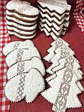 Подарочный  пряник Ажурная елочка 12х12см, фото 4