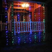 Гирлянда штора, занавес 3x2м 320 LED