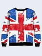 Женский свитшот Флаг Великобритании, фото 2