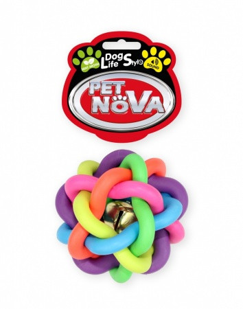 Игрушка для собак Путанка с колокольчиком Pet Nova 6 см