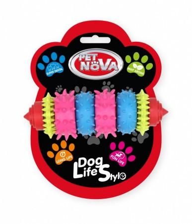 Игрушка для собак Грызун SuperDent Pet Nova 8 см (S)
