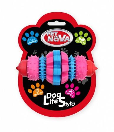 Игрушка для собак Грызун SuperDent Pet Nova 16 см (L)