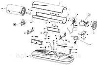 Запчасти по схемам (деталировкам) к дизельным пушкам Master B-CED
