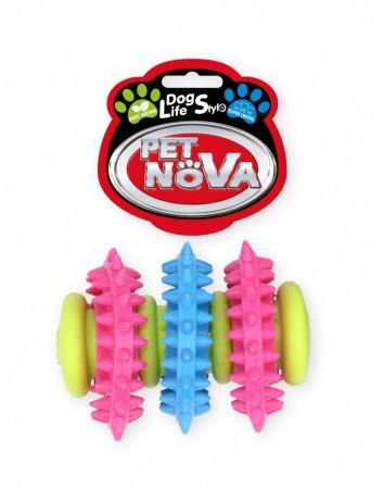 Игрушка для собак Трубка SuperDent Pet Nova 7cm