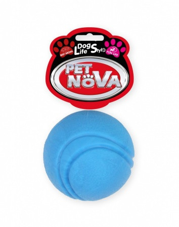 Игрушка для собак Мяч Pet Nova 5 см синий