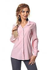 Яркая красивая модная деловая женская блузка, фото 2