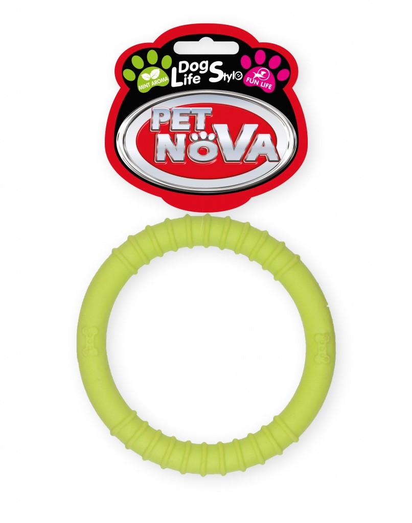 Игрушка для собак Кольцо Ringo Pet Nova 9.5 см желтый