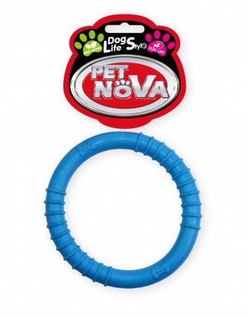 Іграшка для собак Кільце Ringo Pet Nova 9.5 см синій