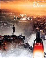 Мужская туалетная вода Dior Fahrenheit Aqua M edt 125