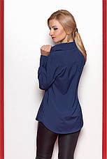 Яркая красивая модная деловая женская блузка, фото 3