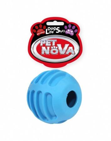 Іграшка для собак Snackball Pet Nova 6 см синій
