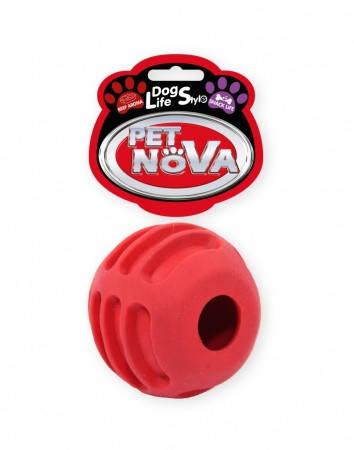 Игрушка для собак Snackball PetNova 6 см красный
