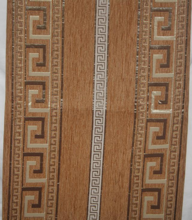 Комплект покрывала (дивандеки) Египет песочный на большую кровать и два кресла евро размера