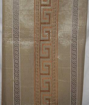 Комплект покрывала (дивандеки) Египет песочный на большую кровать и два кресла евро размера, фото 2