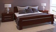 Кровать из массива дуба Арт-3 двуспальная с подъемным механизмом
