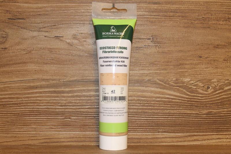 Шпатлевка водная усиленная, Ecostucco Strong, тюбик, 250 грамм