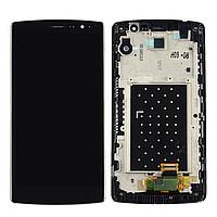 Дисплей (экран) для LG H522Y G4c с сенсором (тачскрином) и рамкой черный