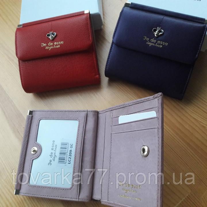 816668da6e13 Кожаный женский кошелек De esse маленький: продажа, цена в Харькове ...