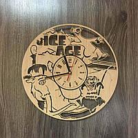 Часы деревянные детские «Ледниковый период»