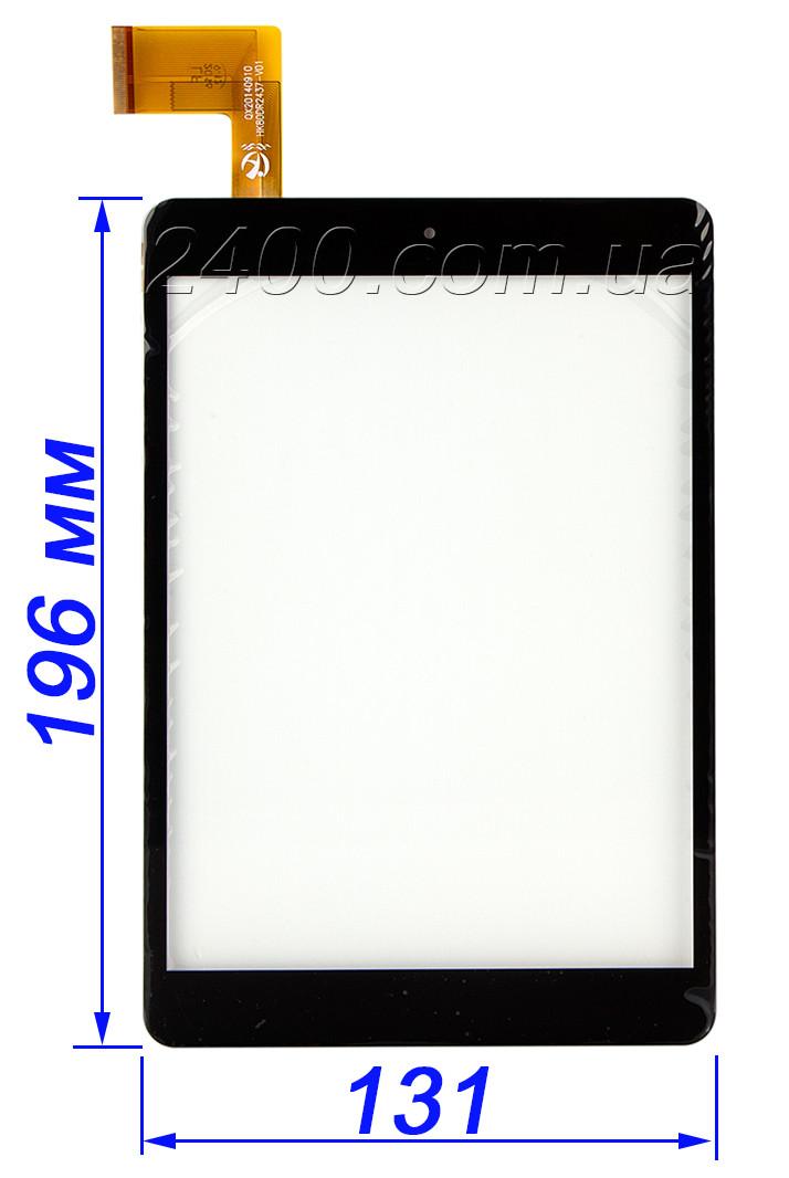 Сенсор, тачскрин для планшета Nomi A07850 (тип 2) HK80DR2437-V01 черный 196*131 мм
