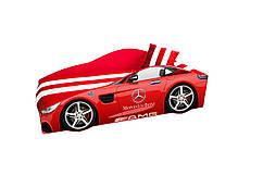 Кровать Мерседес E-4 (серия ЭЛИТ) красный