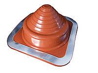 Кровельный проход 5-127мм Dektite Premium (Master Flash) для металлических и битумных крыш Красный силикон