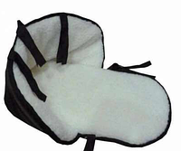 Матрасик на санки (искусственная кожа,овчина)