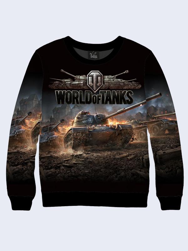Женский свитшот World of Tanks