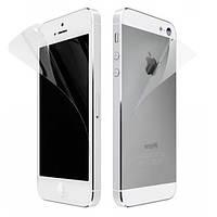 Защитная пленка для iPhone 5 (айфон 5) матовая (2 стороны)