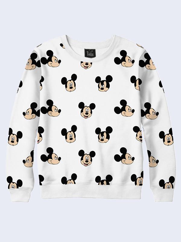 Женский свитшот Mickey emotions
