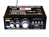 Усилитель UKC-699D USB SD FM 2x300 Вт
