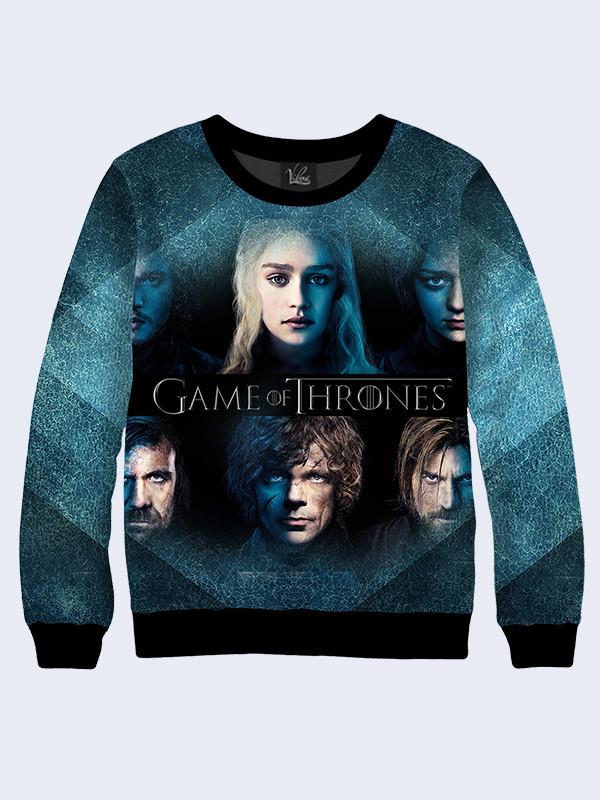 Женский свитшот Game of Thrones персонажи