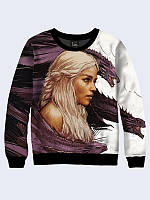 Женский свитшот Daenerys and dragons