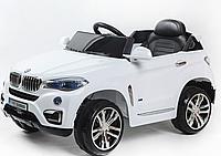 Электромобиль (T-788 WHITE) джип на р.у. 2*6V4.5AH мотор 2*20W с MP3 103*65*42