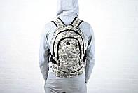 Спортивный рюкзак пиксель/ камуфяляж