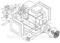 Запчасти по схемам (деталировкам) к обогревателям Master BV-FS