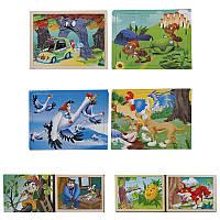 Деревянные пазлы 779-603 ,8 видов