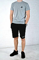 Мужской костюм шорты и футболка  найк (Nike) реплика, фото 1