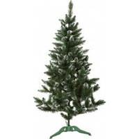 Ель (елка) искусственная Лидия 2.0 м - темнозеленая, заснеженная, фото 1