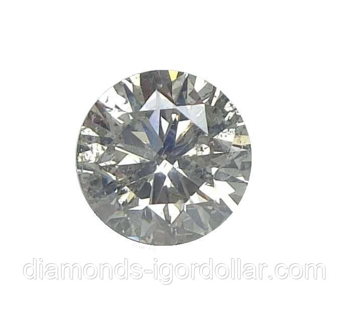 Бриллиант натуральный природный 1.23кт 6.67мм Si2-3/G-H 3260$