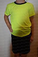 Комплект детский, р.60,64,68. футболка+шорты, фото 1