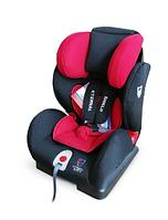 Новое Автокресло Honey Baby (красный/черный)