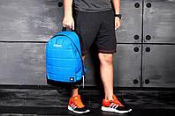 Голубой рюкзак городской рибок, Reebok реплика
