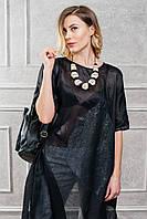 Блуза-черная