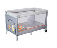 Манеж-кровать Baby Mix Sowa HR-8052 172 grey