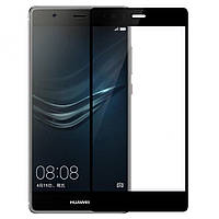 Защитное стекло 3D для Huawei (хуавей) P8 Lite 2017 Black