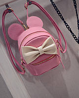 """Детский рюкзак для взрослых """"Mickey"""" розовый"""