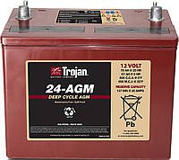 Тягової акумулятор Troian 24-AGM, фото 1