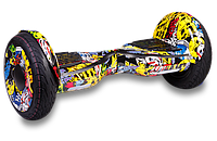 Гироскутер Smart Balance All Road APP 10,5 дюймов Hip-Hop (граффити)