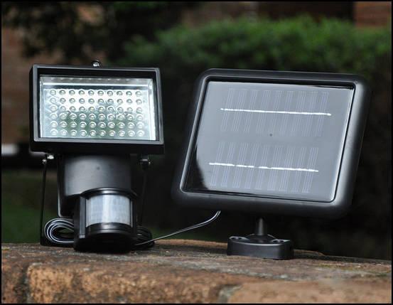 Прожектор на солнечной батарее 60LED, фото 2